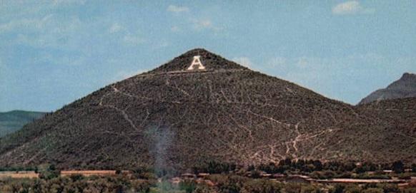 """A"" Mountain"